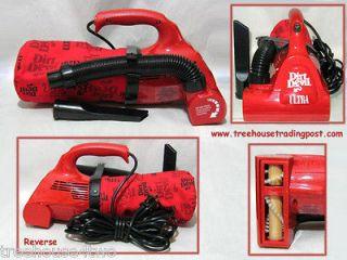 ROYAL Dirt Devil Ultra Hand Held Vac Vacuum, Model 08230C, Red