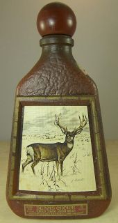MULE DEER JIM BEAM WHISKEY DECANTER REGAL CHINA JAMES LOCKHART PRINT