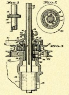 DELTA ROCKWELL Drill Press Quill 1935 US Patent_W204