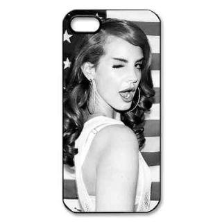 New Assorted Design lana del rey Fans black apple iphone 5 hard case