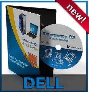Dell Studio 1555 Repair Recovery Drivers Install Restore Rescue Disc
