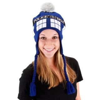 Adult Syfy TV Show Doctor Who Time Lord Dr. TARDIS Police Call Box