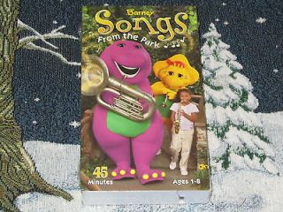SONGS FROM THE PARK~VHS VIDEO SELENA GOMEZ DEMI LOVATO FREE U.S. SHIP