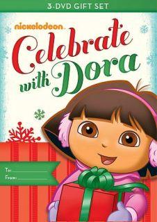 NIP Nickelodeon Celebrate With Dora 3 DVD Set