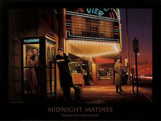 Chris Consani Elvis Monroe James Dean print 24x32 poster movies