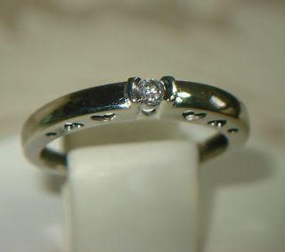 10k gold diamond heart ring