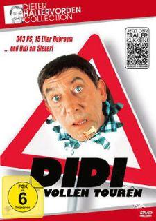 Didi In Full Swing NEW PAL Cult DVD Wigbert Wicker Dieter Hallervorden