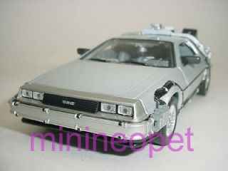 BACK TO THE FUTURE TIME MACHINE DELOREAN 1/24 PART 2
