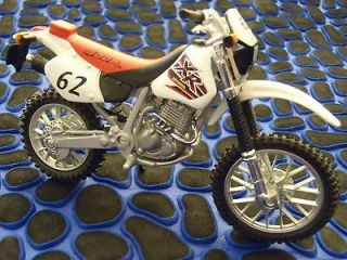 New (out of package) 1:18 Scale Honda XR400R Enduro Motorcycle