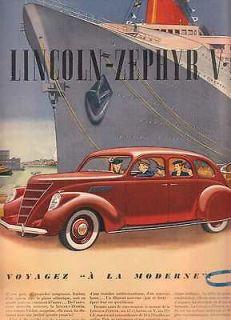 QUEBEC MAG 1937 LE SAMEDI DOW ALE FORD CAR ADS DIONNE QUINTUPLETS