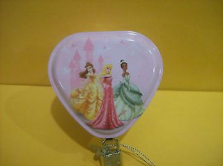 Disney Princess Trinket / Jewelry Box with Lock
