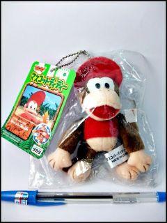 Takara Japan Nintendo Orginal Donkey Kong Diddy Mini Plush Figure rare