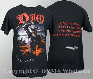 Authentic DIO Band Holy Diver T Shirt S M L XL Ronnie James NEW