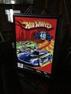Hot Wheels/Matchbox 48 Car Carry Case Organizing Storage Box Great