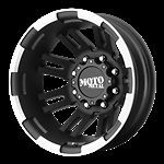 16 Inch Black Wheels Rims Dodge RAM 3500 Chevy Silverado Ford F350