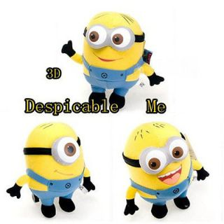 Newly listed Despicable Me 3D Minion DAVE JORGE STEART Plush Doll Toy