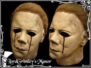 NEW 2012 Officially Licensed Michael Myers Halloween 2 Mask Bleeding