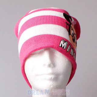 Disney Minnie Mouse Nerd Reversible Knitted Hat and Glove Laplander