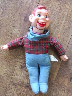 VTG Howdy Doody 12 Ventriloquist Doll Puppet