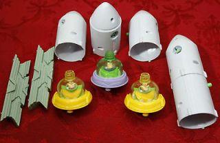 Lot of McDonalds Happy Meal   Disney   Buzz Lightyear   Rocket Ships