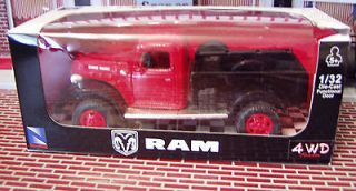 1946 DODGE RAM POWER WAGON 2010 NEWRAY CITY CRUISER 1/32 SCALE #44653
