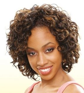 PEPPY CURL 3PCS CURLY HUMAN WEAVE EXTENSION SHORT CUT