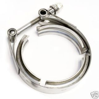 Garrett V Band Clamp 4 Heavy Duty Stainless Steel for GT42/GT45 or
