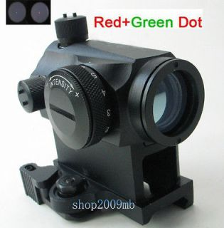 Newly listed Illuminated Red/Green Dot Sight Scope Telescopic Micro w