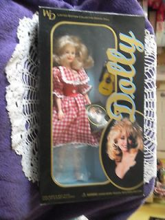 DOLLY PARTON DOLL WITH HER GUITAR & MICROPHONE LIMITED EDITION 1996