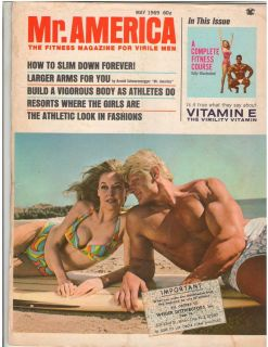 America Bodybuilding Muscle Magazine DAVE DRAPER / Betty Weider 5 69