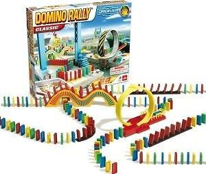 DOMINO RALLY EXPRESS New game toy Loop the Loop bridge CLASSIC NIB