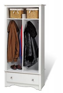 Organizer Coat Rack Drawer Shoe Storage Cabinet NEW PP WEL3369 K
