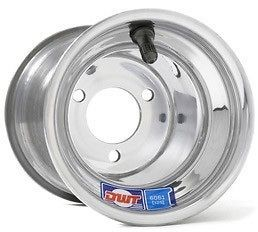 DWT Kart Go Cart POLISHED Wheel ALUMILITE Blue Label 5 5 x 5 3/67 2