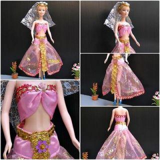 Princess & The Popstar Tori Dress Pink Costume Dress Up Girl Size 4 6X