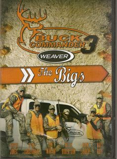 Buck Commander 3 ~ The Bigs ~ Deer Hunting DVD New 2010