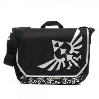 Nintendo Zelda Black Messenger Bag