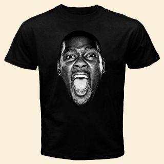 Kevin Durant head T Shirt Thunder basketball shirt