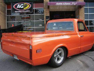 1967 1972 Chevy GMC Truck Tonneau Bed Cover Hard Fiberglass. Painted