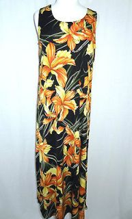 JOSTAR NEW ARRIVAL X LARGE ORCHID FLORAL PRINT LONG FULL LENGTH DRESS