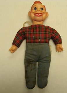 Howdy Doody Ventriloquist Dummy 12 Tall Doll Puppet Eegee