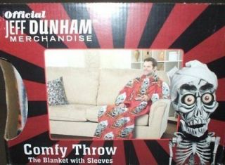 NIB Jeff Dunham Licensed Achmed the Dead Terrorist Comfy Blanket Throw
