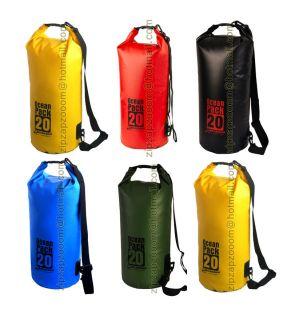 Karana Ocean Dry Pack Waterproof Travel Day Kayak Shoulder Duffle Bag