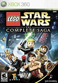 LEGO Star Wars The Complete Saga (Xbox 360, 2007)*Used*