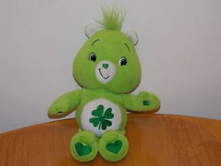 Newly listed Care Bear 10 Inch Green Good Luck Bear Lucky Irish Plush