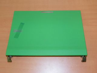 DELL LATITUDE 2100 LCD BACK COVER & HINGES (W789N) [NEW] GREEN
