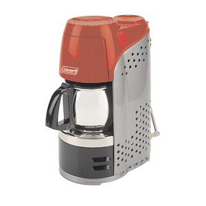 Coleman 10 Cup Portable Propane Coffeemaker w/Stainless Steel Carafe