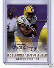 DeShawn Wynn Packers Gators 2007 SP Chirography Biography Silver AUTO