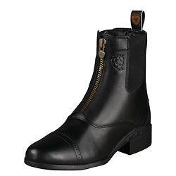 NEW Ariat Ladies Heritage III Zip Paddock Boot Black