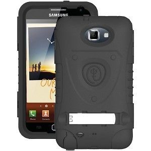 GNOTE BK Samsung Galaxy Note Kraken AMS Black Case,Belt clip/Holster
