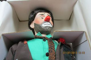 The Emmett Kelly Jr. Effanbee Porcelain Doll 100th Anniversary 1